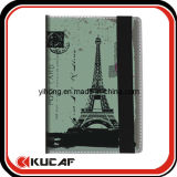China Manufacture PU Material Colorful Travel Notebook