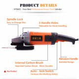 Kynko 180mm Electric Angle Grinder for Stones Sawing