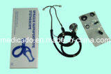 Aluminum or Stainless Steel Single or Dual Head Stethoscope/Medical Stethoscope (QDMH-5004)