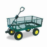High Quality Steel Meshed Garden Tool Cart (TC4211)