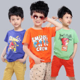 2016 Soft Cotton Fabric Children T-Shirts with Printing