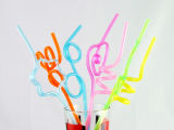 Reusable Artistic PVC Crazy Drinking Straws