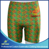 Custom Sublimation Girl′s Compression Sports Tight Shorts