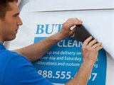 Wholesale Digital Printed High Quality Waterproof Car Magnetic Signs