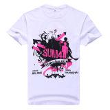 2014 Organic Printing Bulk White T-Shirt Wholesale