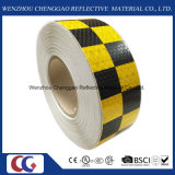 Vehicle Conspicuity PVC Chequer Reflective Tape with Crystal Lattice (C3500-G)
