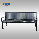 Outdoor Tennis Courside Bench and Cast Iron Benches Ends