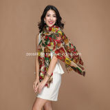 Fashion Wool Woven Long Scarf for Lady or Pashmina Shawl