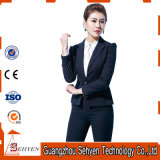 30 Wool & 70%Polyester 1 Botton Fashionable Business Ol Women′s Suits