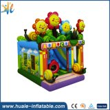 Best Price Sun Flower Inflatable Jumping Castle with Climbing Wall