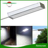 48 LED 800lm Solar Microwave Radar Motion Sensor Light Outdoor Waterproof Security Wall Lamp for Patio Yard Garden