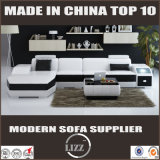 U Shape Leather Sofa Living Room Furniture Made in China Sofa