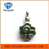 Fashion Flower Shape Green Glue Jewelry Pendant
