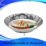 Multi-Function Steamed Plate Fruit Basket by High Quality Stainless Steel