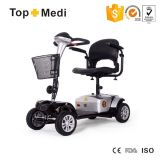 Topmedi Tiltable Head Round Handle Handicapped Electric Mobility Scooter