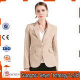 Classical Design Tr Ladies Business Suit Jacket with One-Button
