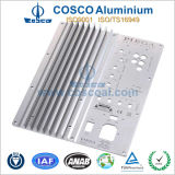 Aluminium Extrusion for Faceplate with CNC Machining