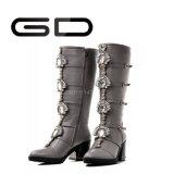Classic Diamond Zipper Women Warm Tall Boots Fashion Women High Boots