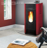 Automatic Ignition Biomass Pellet Fireplace for Sale