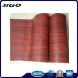 Decorative Foil Mahogany Wood Grain Furniture Foil