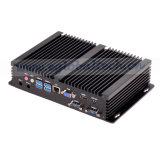 Dual COM Industrial Fanless Mini PC Computer Intel Core I3 4010u Slim PC Server Gaming PC VGA HDMI