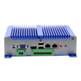 Ual Nic Mini PC with 2 1000m LAN, Support Windowsxp, Windows7, Linux