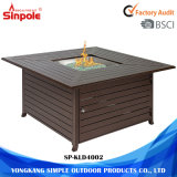Most Fashion Aluminum Gas Outdoor Fire Pit with Cover