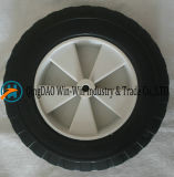 8 Inch Flat Free PU Wheels with Spoke Color and Rim