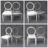 Foshan Silver Aluminum Louis Dining Chair for Banquet and Hotel (YC-D86)