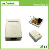 Best Price CAT6 UTP Faceplate Single Port Surface Box