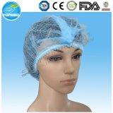 Disposable Nonwoven Mob Cap/Clip Cap/Hairnet/Surgical Cap