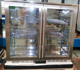 European Style Glass Door Small Freezers/Beer Mini Fridge/Back Bar Cooler