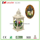 Metal Beautiful Decorative Lantern with LED Light for Indoor and Outdoor Decoration