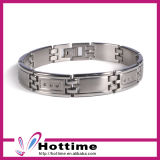 Most Popular Stainless Steel Bracelets for Promotion Gift (CP-JS-BL-156)