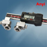 API Rtj Ring Joint Flange Gasket Seal Groove Vernier Caliper Measure Pitch Diameter