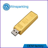 Metal Gold Bar USB Flash Disk USB Flash Memory