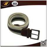 Men Pin Buckle Wax Rope Braid Belt (HJ0190)