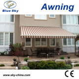 Folding Arm Polyester Awning for Window Awning (B3200)