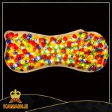 Colours Hand and Art Glass Hotel Ceiling Lamp (Ka223)