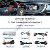 Android Navigation Box Video Interface Work on Buick Support DVR, Rearview Camera, Tmc, 3G