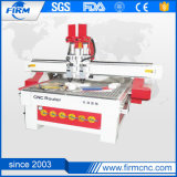Double Spindle Wood Engraving Cutting Machine CNC Router for Wood