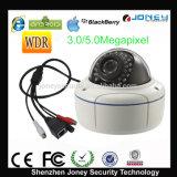 5 Megapixel Dome IP Camera with WDR Varifocal Cloud P2p Poe