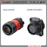 Insulated Screw Connectors/Insulated Electrical Connectors/IP67 Waterproof Connector 12pin