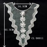 Hot Sale Water Soluble Lace Fabric Collar