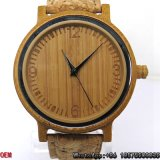 Top Quality Carbonized Bamboo Watch Quartz Watch Hl18
