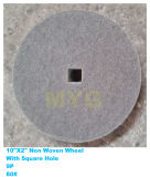 Non Woven Cleaning Wheel with Square Hole