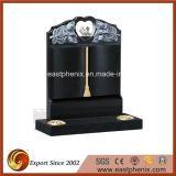 Competitive Price Natural Black Granite Monument