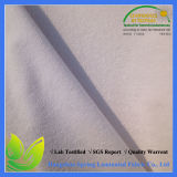 Waterproof Hotel Stretch Terry White Bed Sheet Fabric