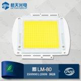 High Luminous Intensity USA Bridgelux 45mil Chip White 150W High Power LED
