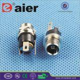 2.5mm Male Metal Waterproof DC Power Jack